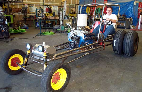 Rebuilding Our Pop\'s Dune Buggy