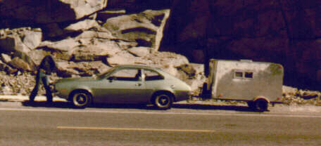 Bill's Pinto in Sierra's 1979