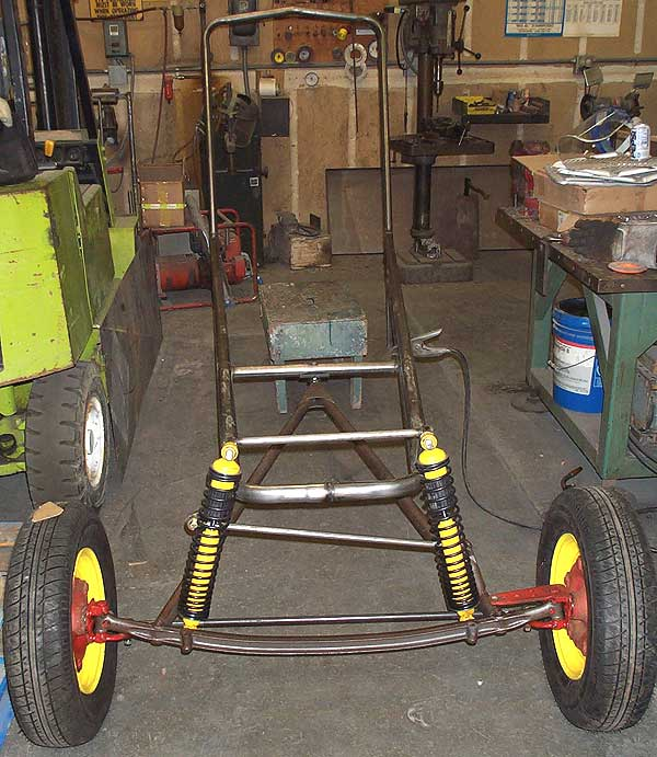Rebuilding Our Pop's Dune Buggy