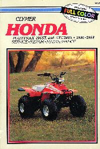 Honda X on 1987 Honda Fourtrax 250