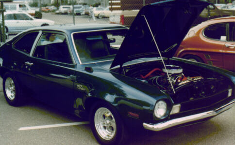 Gerard's Pinto at a car show